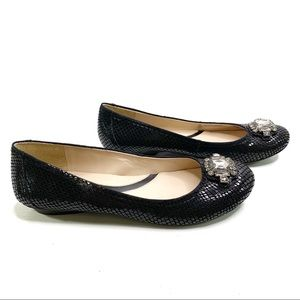 Naturalizer Mariana Shiny Leather Ballet Flat